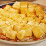 豆腐のバターソテー