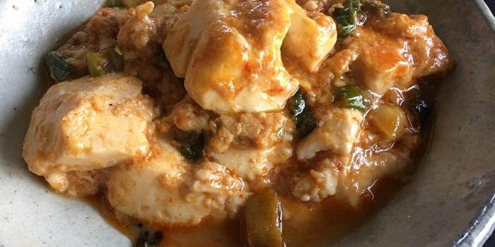 豆腐の甘辛炒め