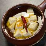 豆腐のアヒージョ