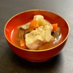 氷豆腐のけんちん汁